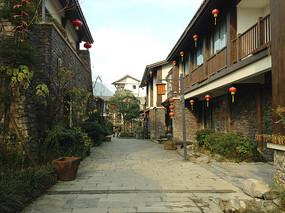 小镇民居街道