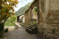 重庆巫溪宁厂古镇残存的民居