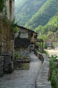 重庆巫溪宁厂古镇古老的民居