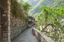 重庆巫溪宁厂古镇石板小路