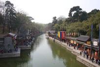 颐和园苏州街水景市场