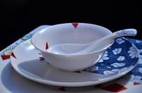 陶瓷餐具摆件