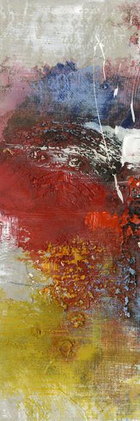 玄关壁画背景墙抽象油画