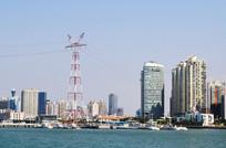 海边的城市风光