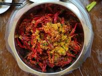 美味可口的川菜小龙虾