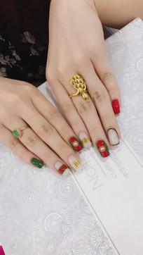 女人的手指