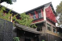 中国特色雕花建筑