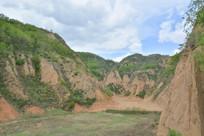 陕北黄土山区