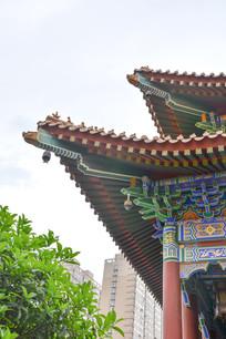 大兴善寺古庙角楼