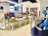 海洋动物玩具店