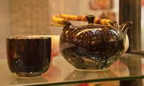 精美陶瓷茶壶茶杯