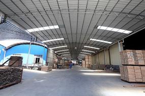 大型木材厂生产加工车间