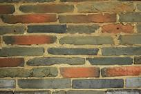 古屋青砖墙