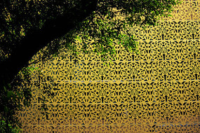 金色花格背景