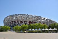北京鸟巢建筑