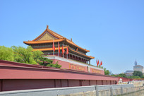 北京天安门侧面