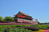 北京天安门景点