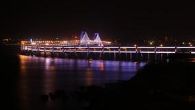 跨海大桥夜景