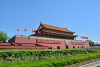 雄伟的北京天安门