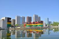 榆林城市公园风景