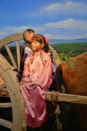 蒙古族少女
