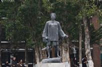 清代人物雕塑