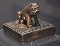 文物螭虎纹蒙古王爷印