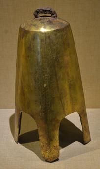 文物鎏金铜钟