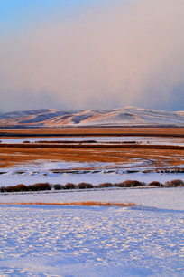 雪野牧场风景