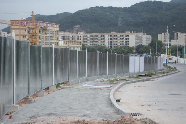 工地铁质围墙