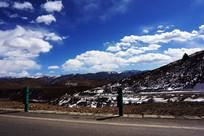 红原公路风景