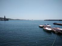 湛蓝的大海风景