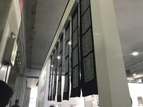 展览厅布置细节