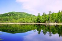 湖泊山水风光