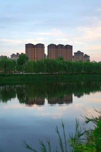 汉城湖公园风景