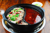 砂锅红汤牛肉