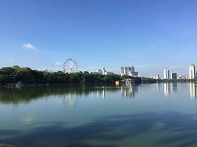 南湖公园风景