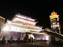 时光贵州威清门夜景