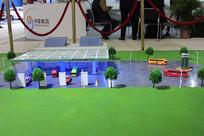 新能源客车充电场模型