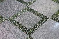 菱形铺石子