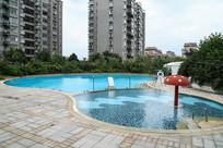 室外露天游泳池
