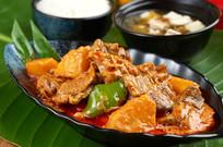 泰国紅咖喱牛腩套餐