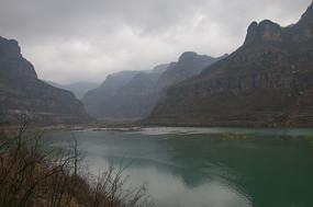 河南林州太行平湖春色
