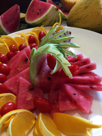 常规水果拼盘