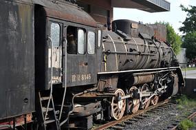 老式蒸汽火车头