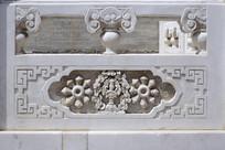 汉白玉浮雕法器