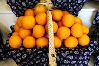 一篮子橘子