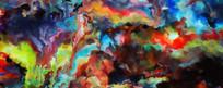 抽象艺术画图片