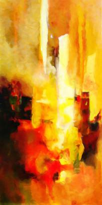 油画抽象画 抽象装饰画