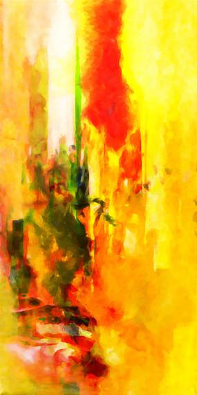 走廊装饰画 端景画 玄关背景墙